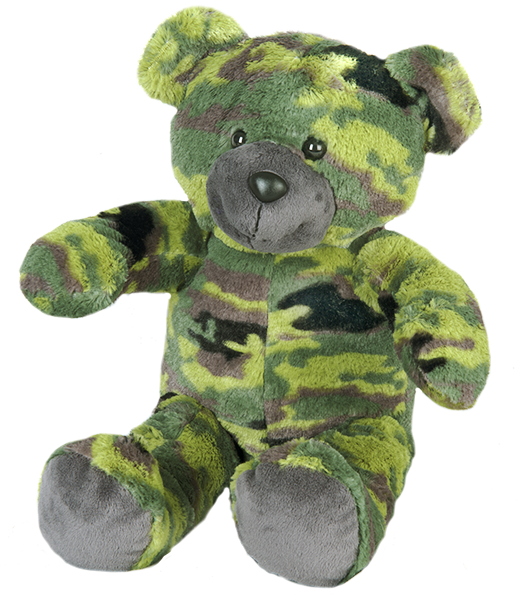 """GI"" the Camo Bear"