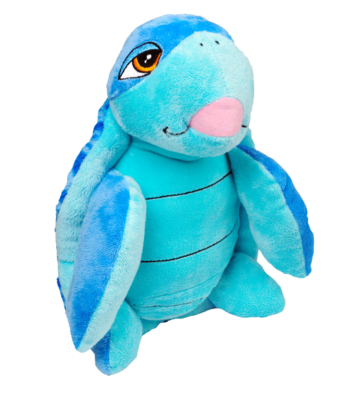 """Swirls"" the Blue Turtle"