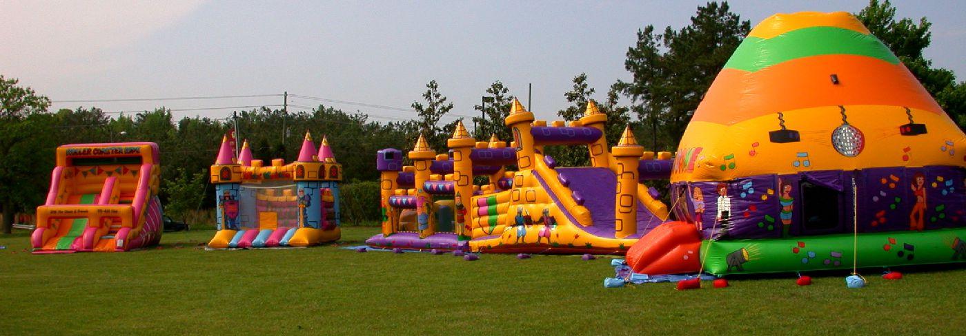raleigh bounce house rental