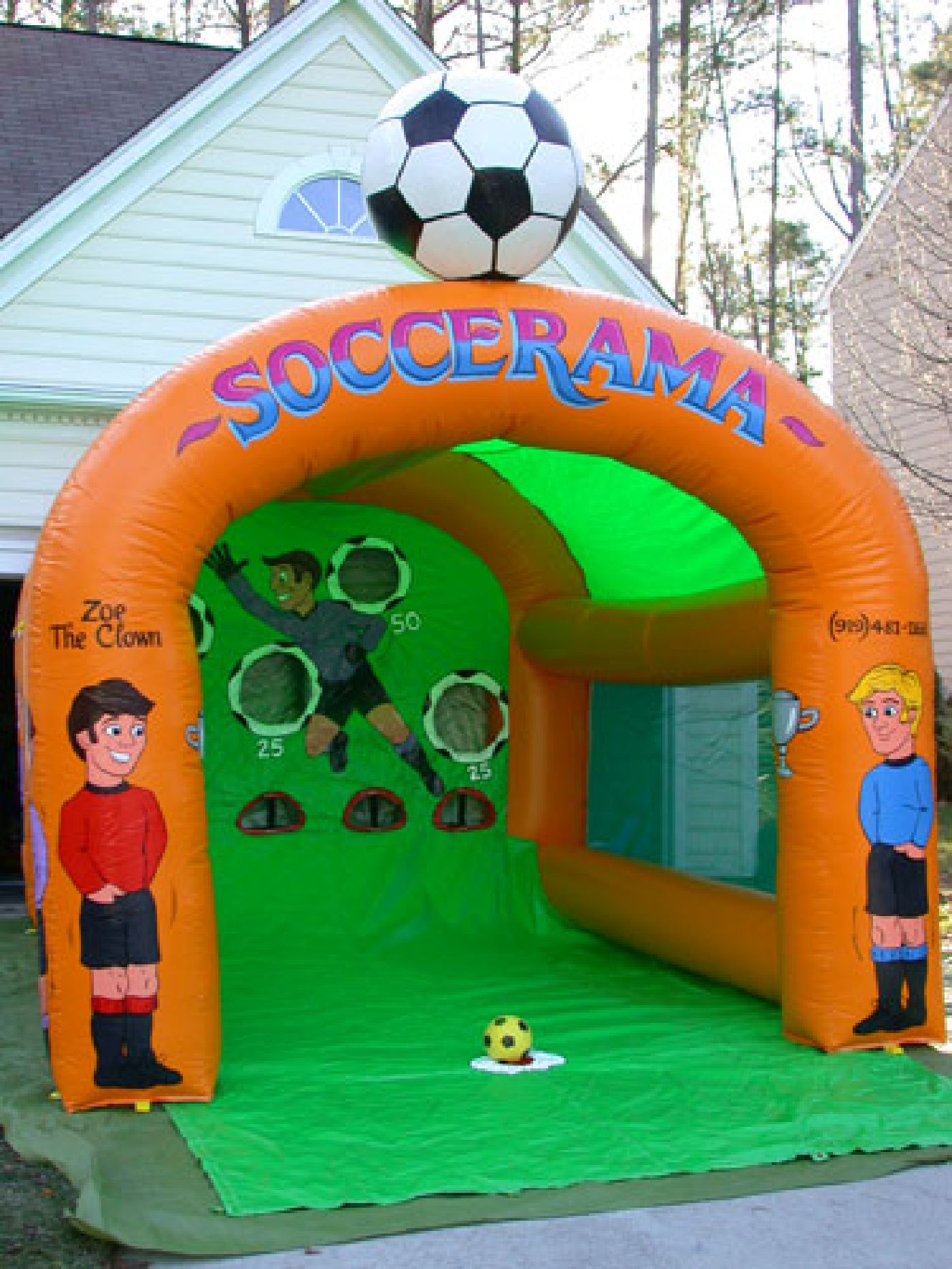 The Top 4 Inflatable Game Party Rentals in Raleigh NC