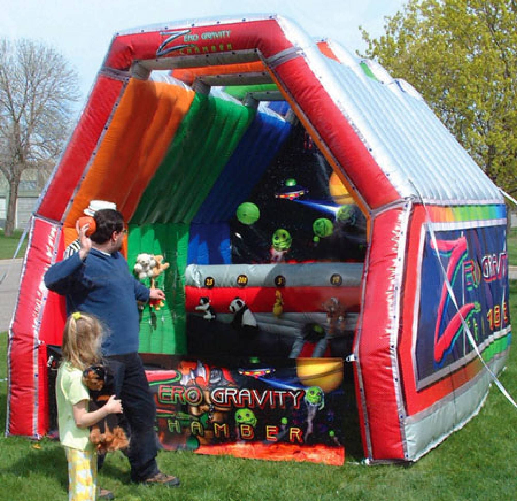 Zero Gravity Chamber inflatable rental game in Raleigh NC