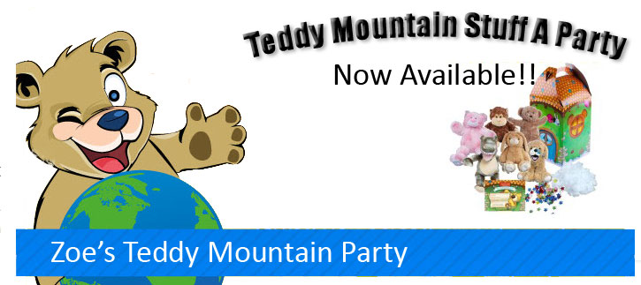 Teddy Mountain Stuff Animals Now Available
