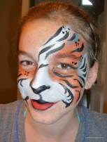 tigress  face painting